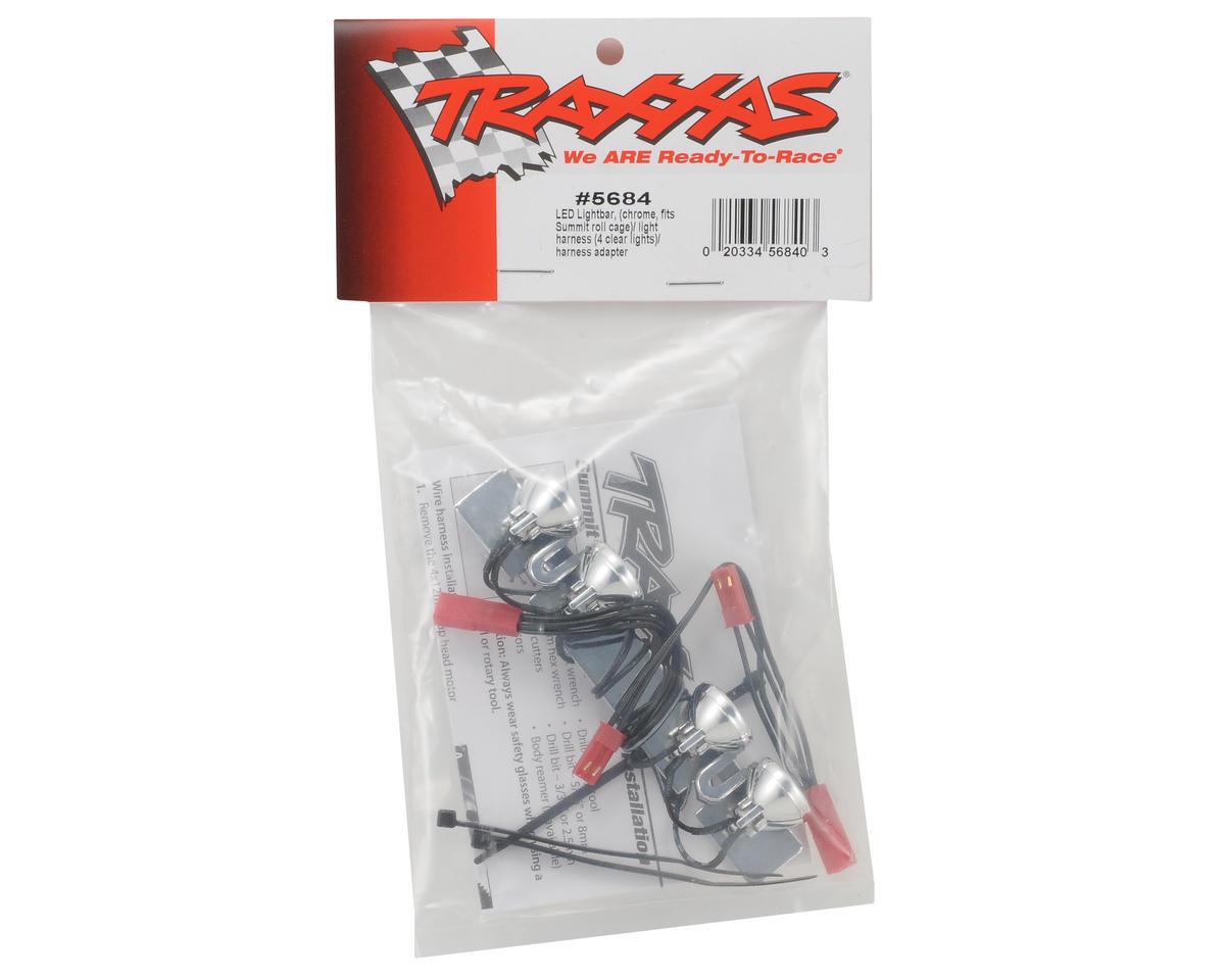 Traxxas LED Light Bar (Chrome) (Summit) [TRA5684]   Cars & Trucks ...