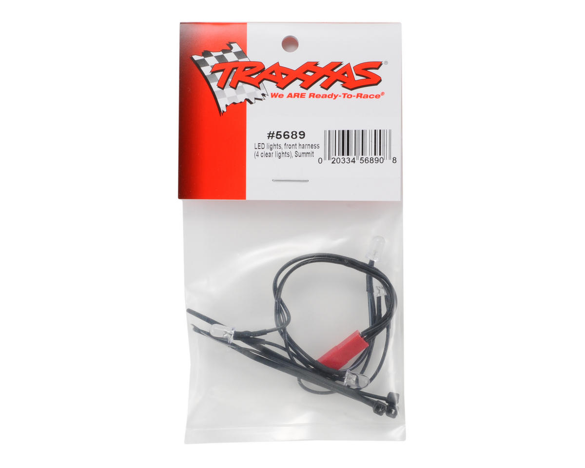 Traxxas LED Light Front Harness (4 Clear Lights)