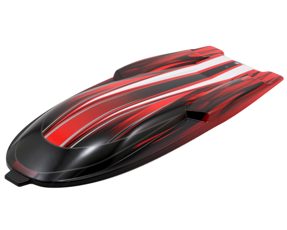 Traxxas Hatch w/Graphics (Red)