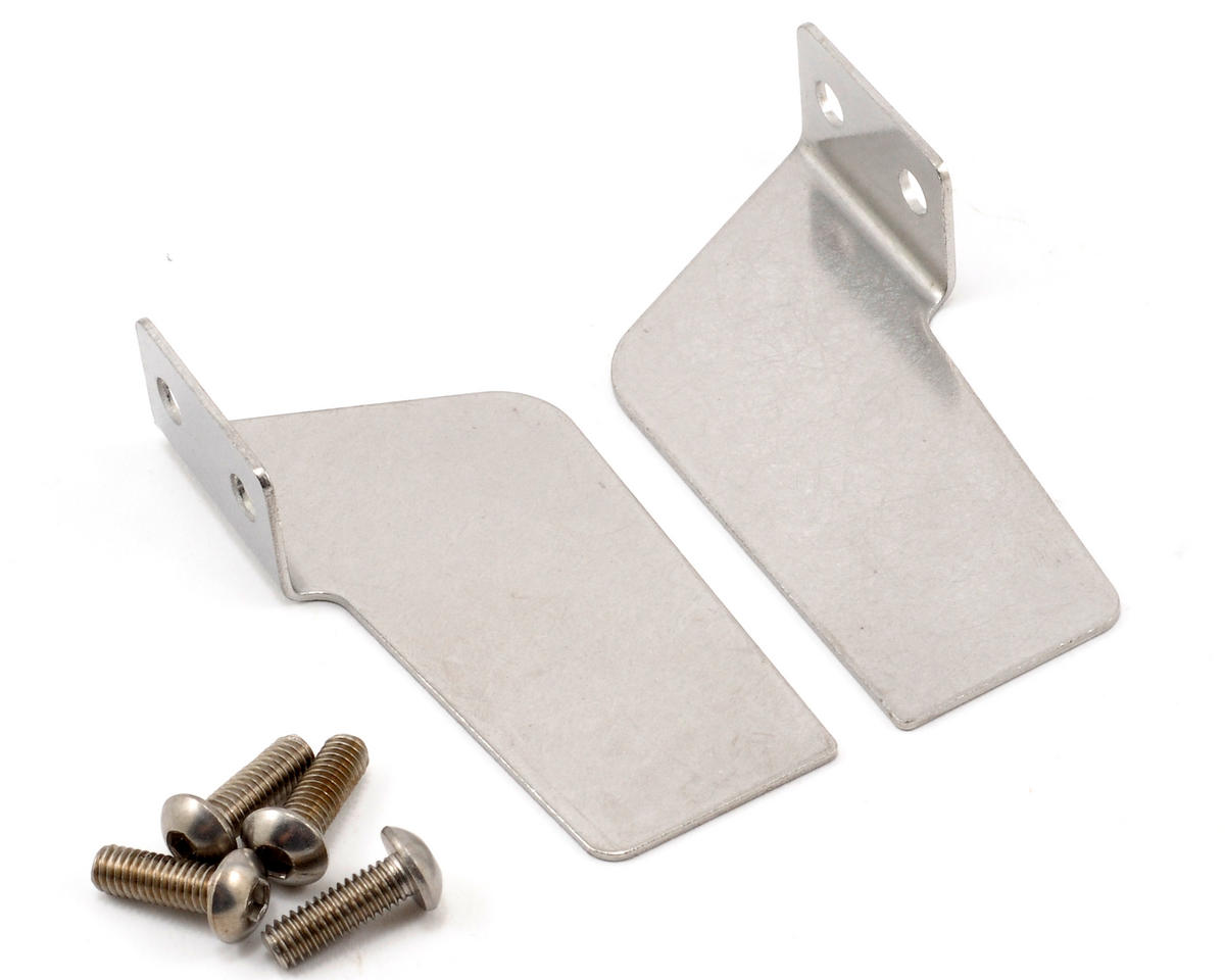 Stainless Steel Left & Right Turn Fin Set by Traxxas