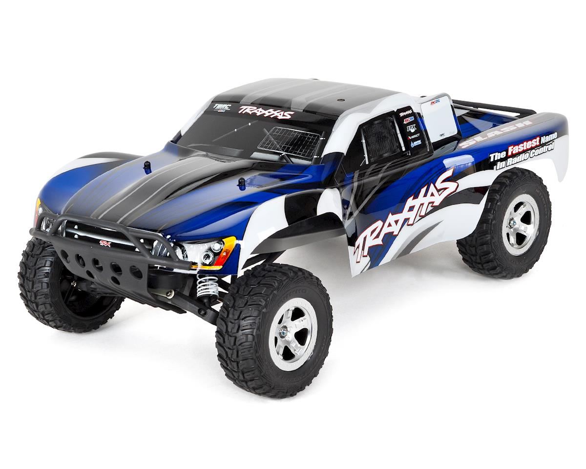 Slash 1/10 RTR Electric 2WD Short Course Truck (Blue) by Traxxas