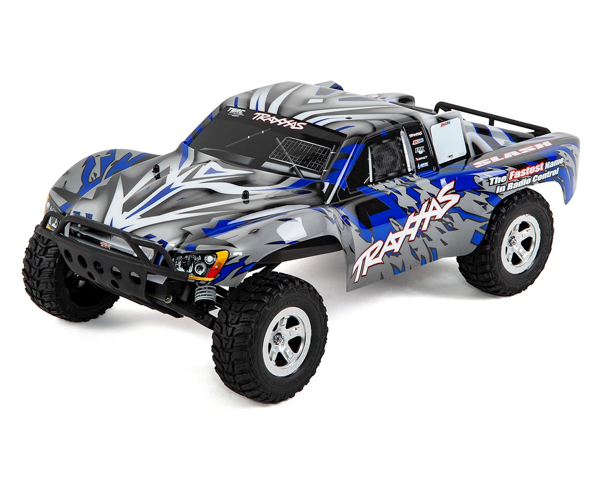 Traxxas Slash 1/10 RTR Electric 2WD Short Course Truck (Blue)