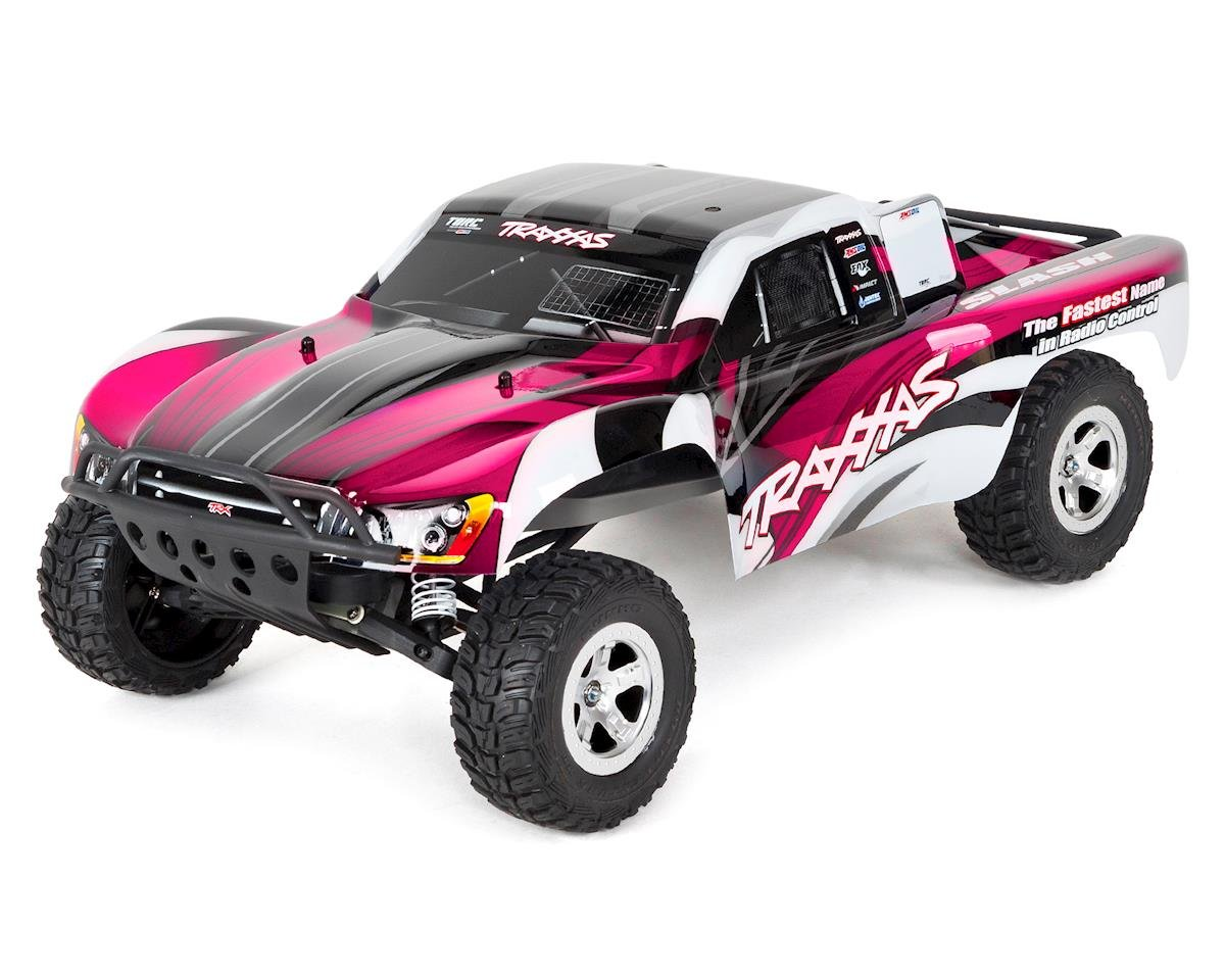 Traxxas Slash 1/10 RTR Electric 2WD Short Course Truck (Pink)