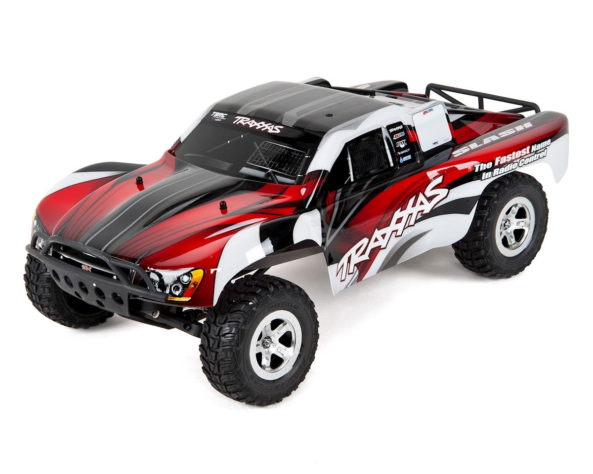 Slash 1/10 RTR Electric 2WD Short Course Truck (Red)