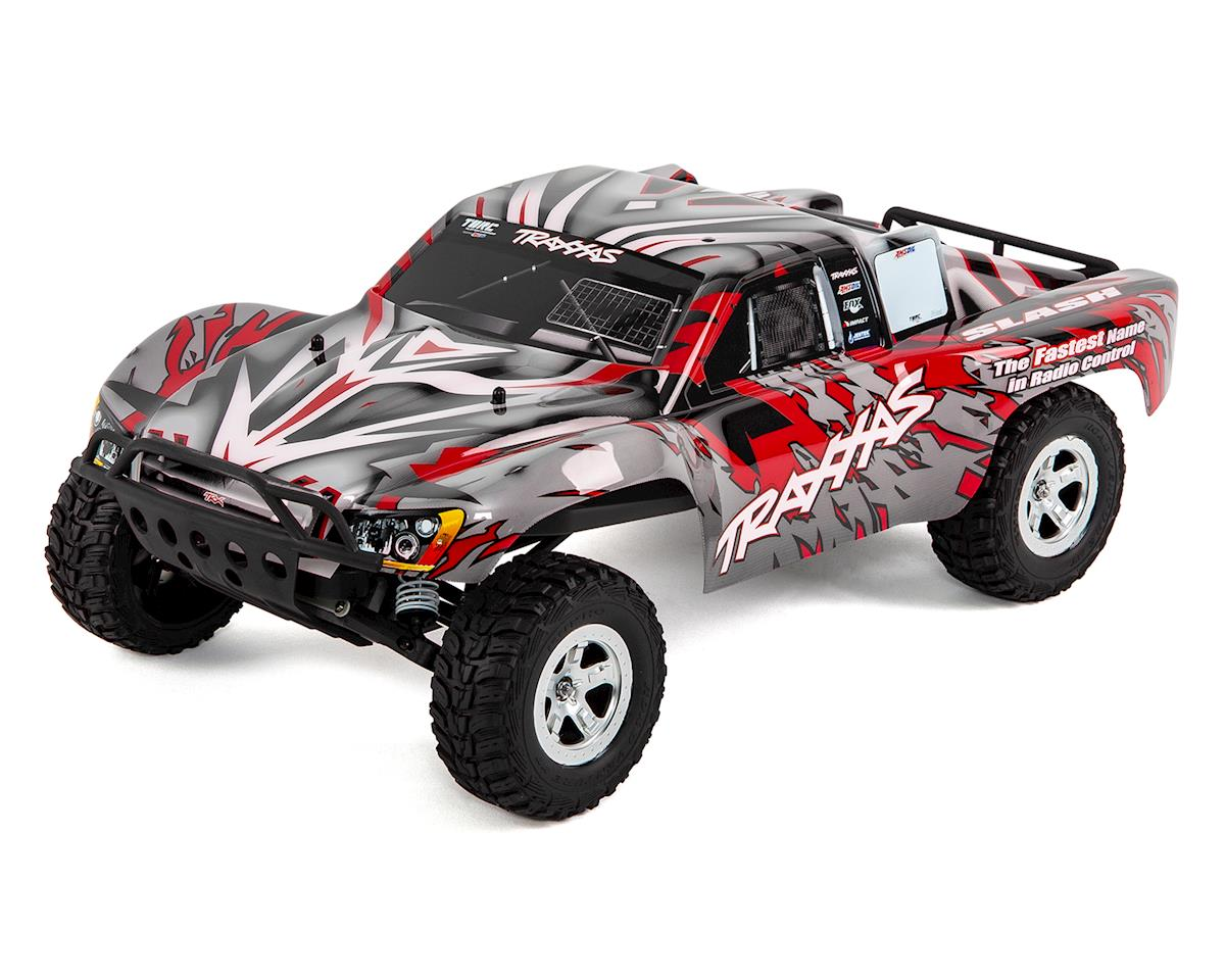 Traxxas Slash 1/10 RTR Electric 2WD Short Course Truck (Red) w/TQ 2 4GHz  Radio System