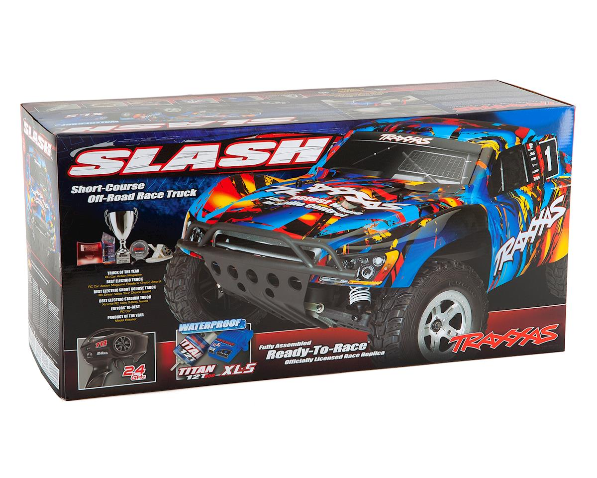 Traxxas Slash 1/10 RTR Electric 2WD Short Course Truck (Rock n Roll)
