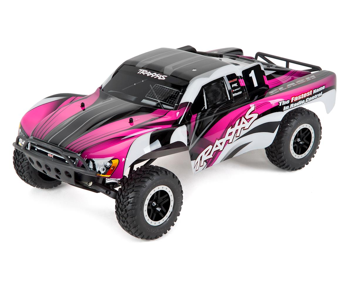 Traxxas Slash 1/10 RTR Short Course Truck (Pink)