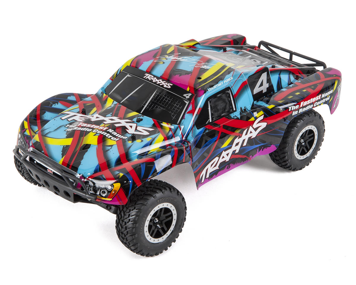 Traxxas Slash 1/10 RTR Short Course Truck (Courtney Force)