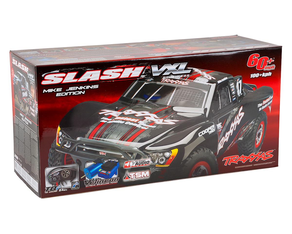 Traxxas Slash VXL LCG 1/10 RTR 2WD Short Course Truck (White)