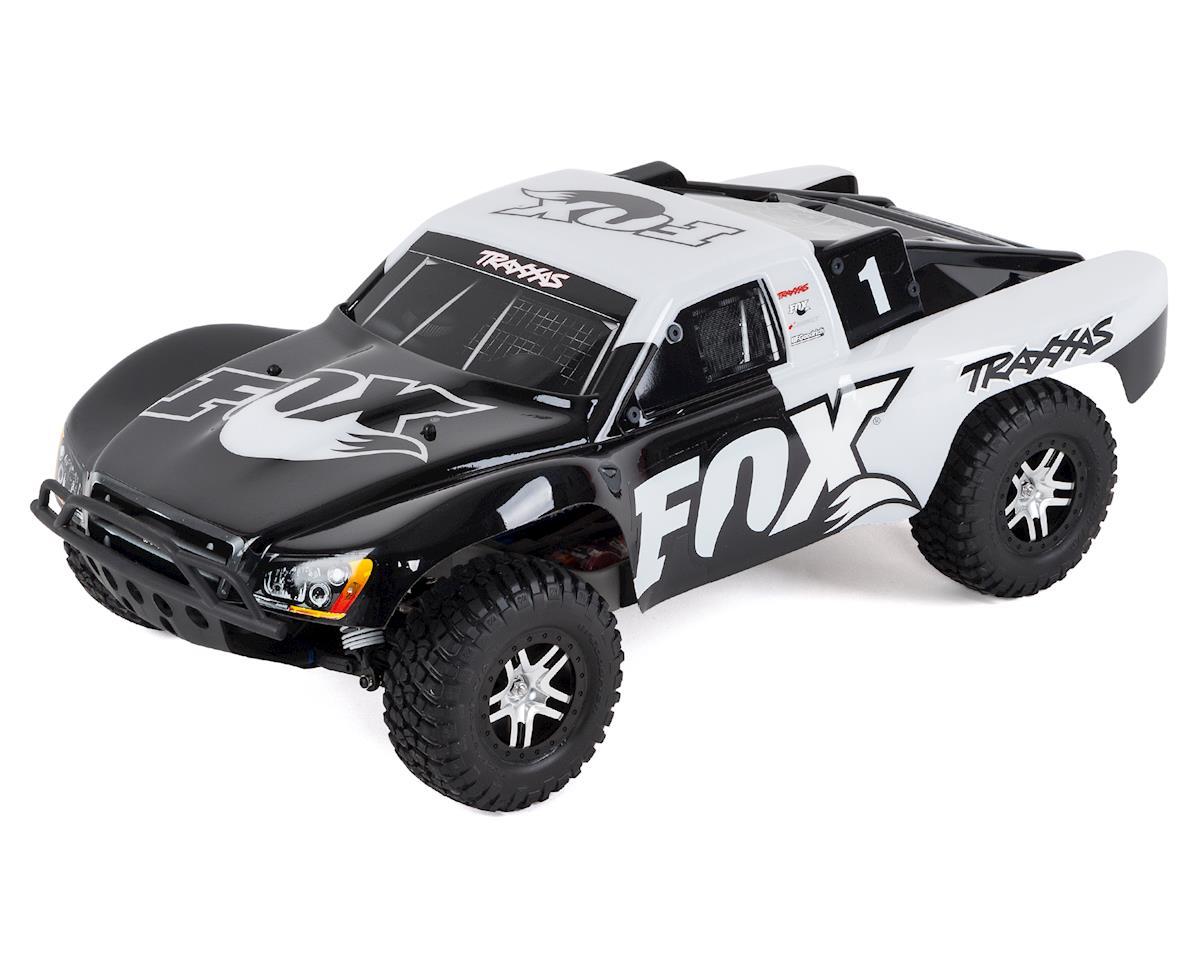 Traxxas Slash VXL 1/10 RTR 2WD Short Course Truck (Fox Racing) w/TSM & TQi  Radio