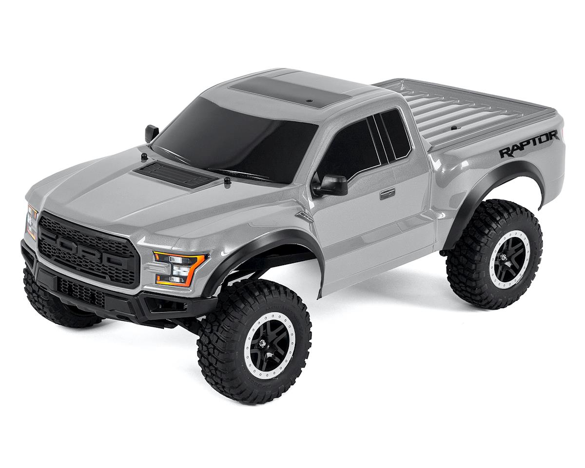 2017 Ford Raptor RTR Slash 1 10 2WD Truck Silver By Traxxas