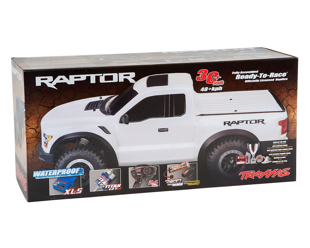 Traxxas 2017 Ford Raptor RTR Slash 1/10 2WD Truck (White)