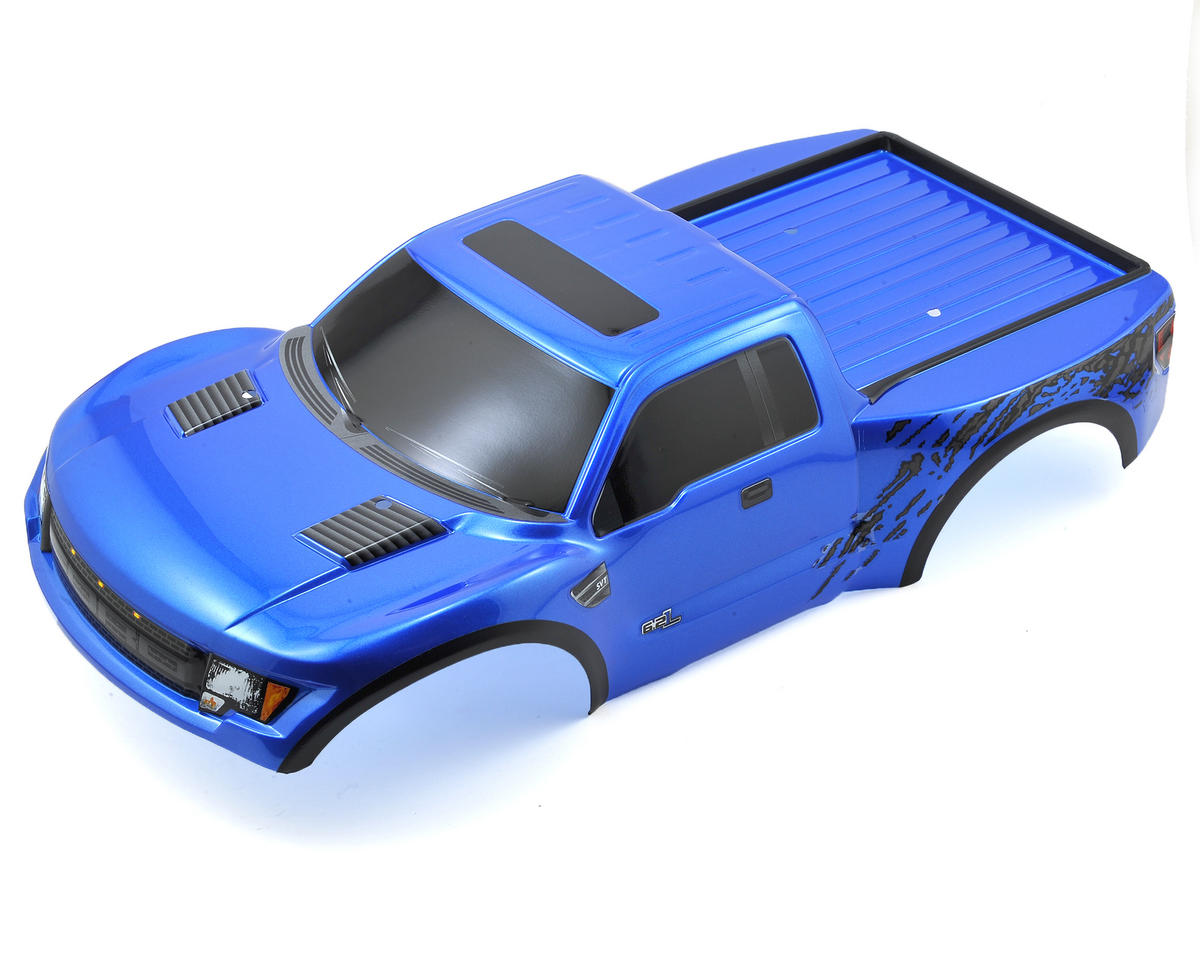 Ford Raptor Pre-Painted Slash Body (Blue) by Traxxas
