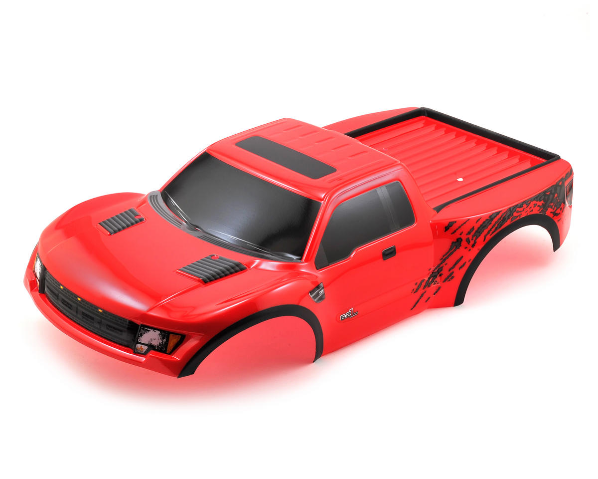 Traxxas Ford Raptor Pre-Painted Slash Body (Red)