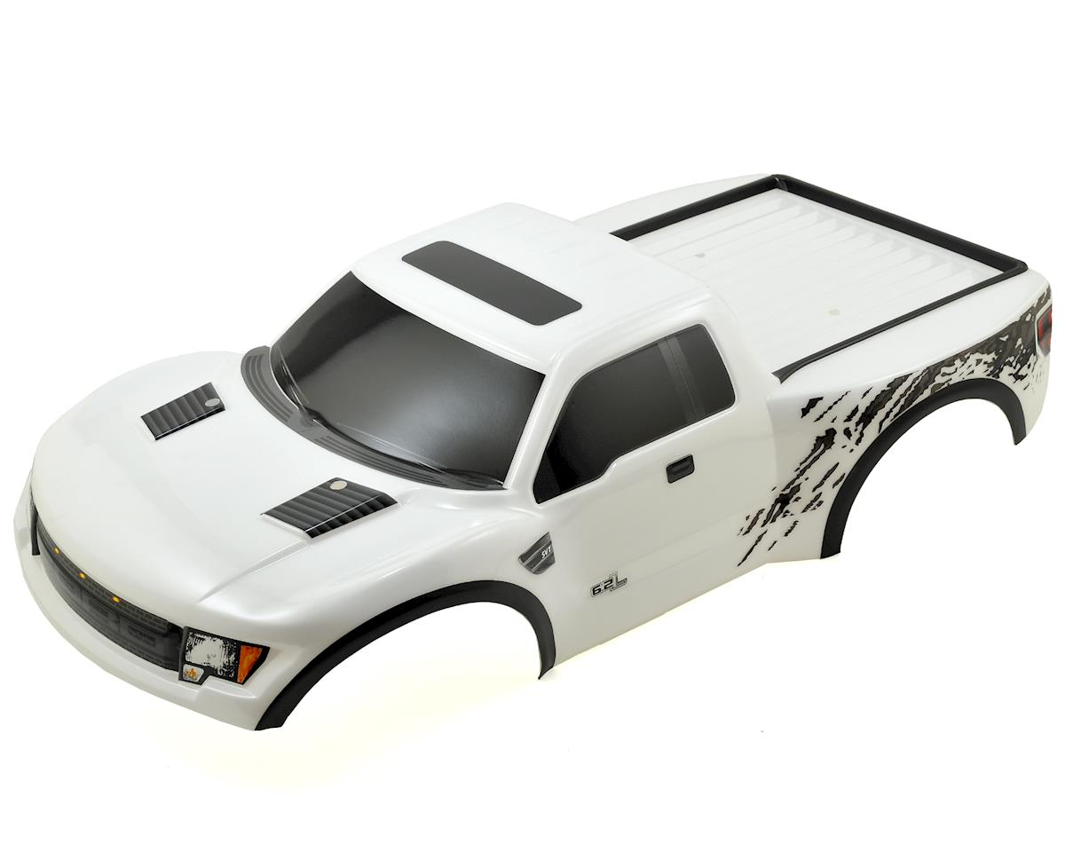 Traxxas Ford Raptor Pre-Painted Slash Body (White)