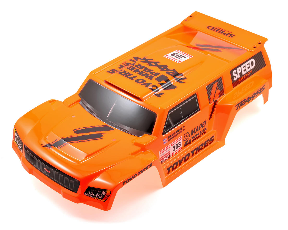 Traxxas Dakar Short Course Painted Body (Orange)