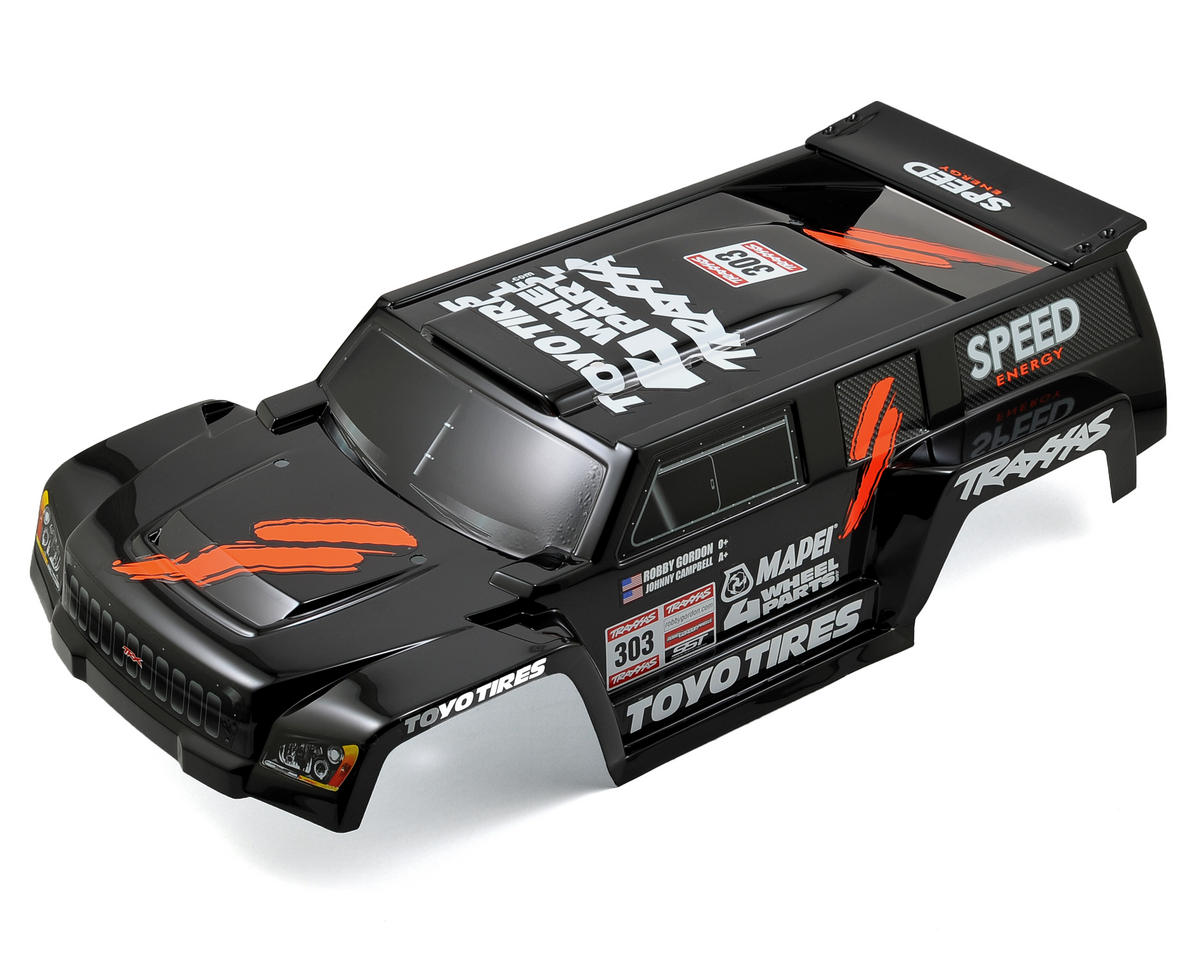 Traxxas Dakar Short Course Painted Body (Black)