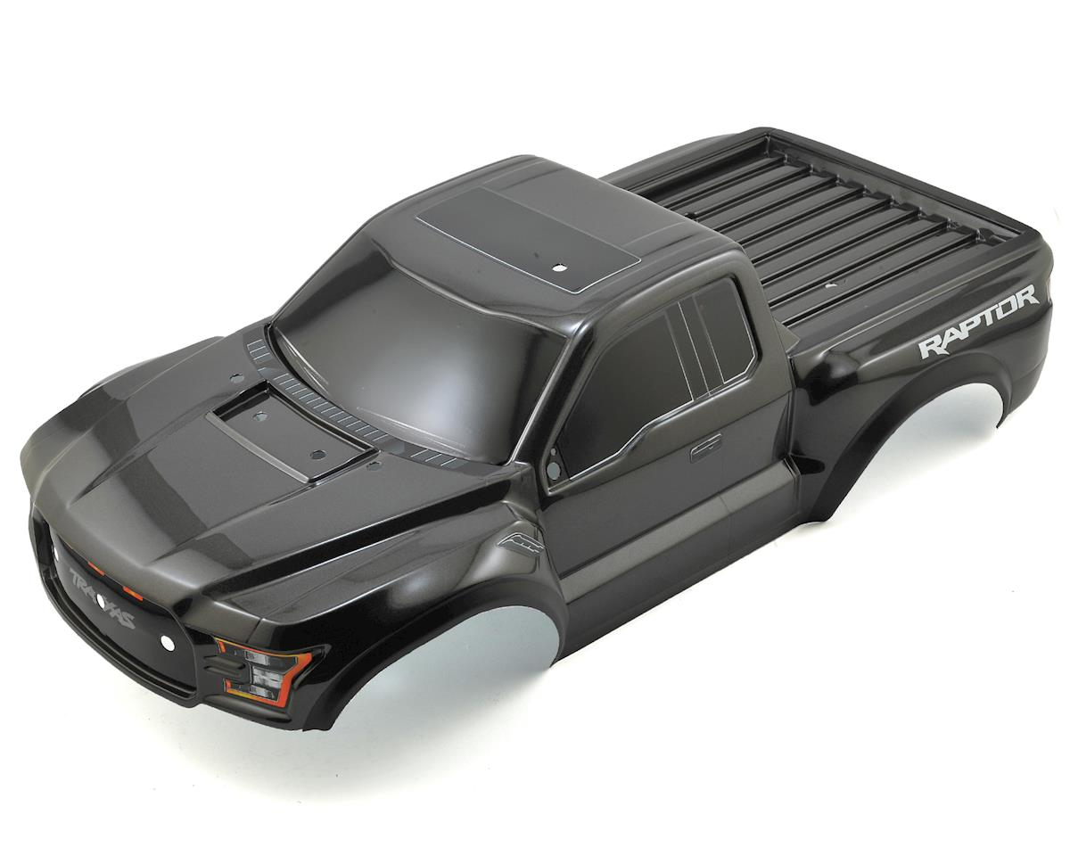 2017 Ford Raptor Pre-Painted Short Course Body (Black) by Traxxas