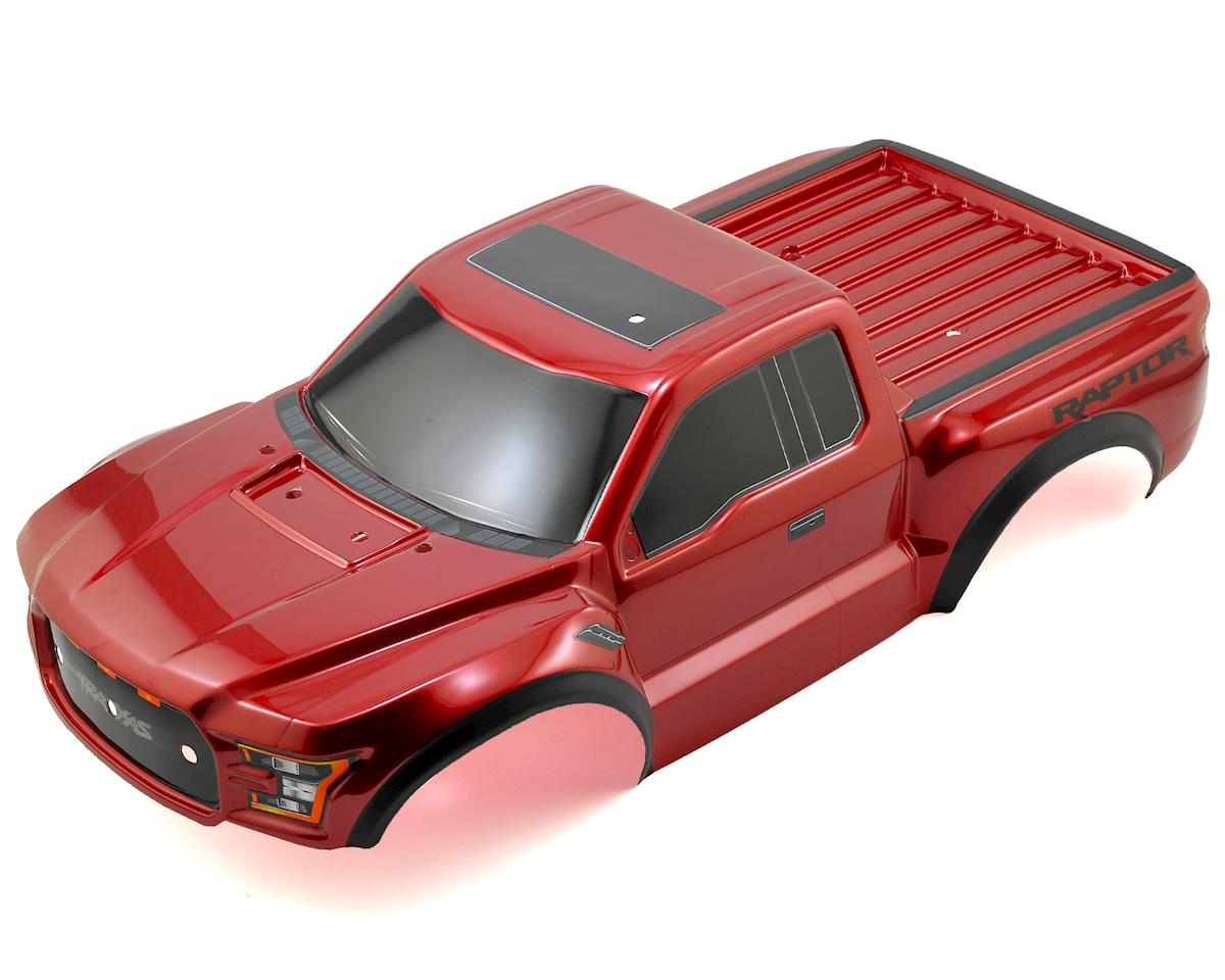 2017 Ford Raptor Pre-Painted Short Course Body (Red) by Traxxas