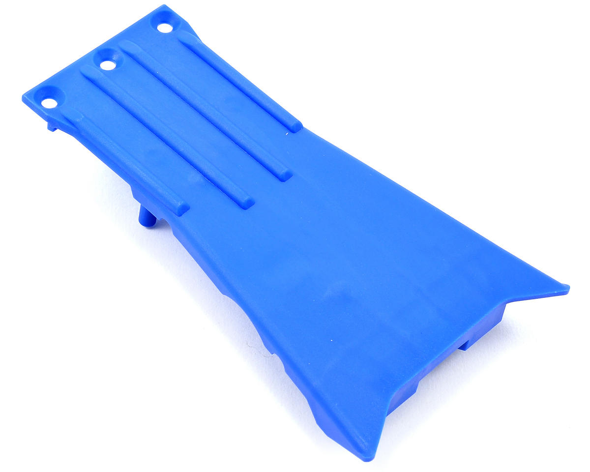 Slash 2WD LCG Lower Chassis (Blue) by Traxxas