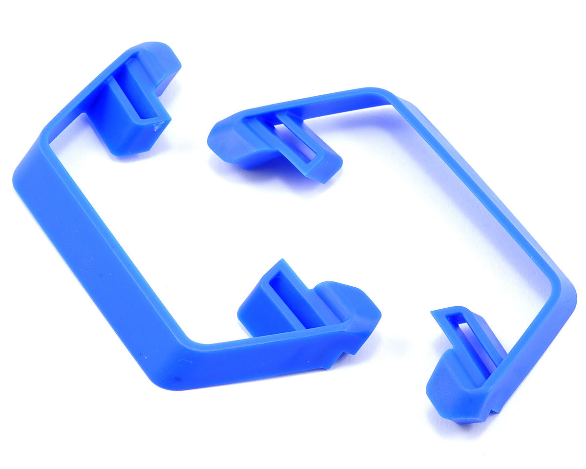 Slash 2WD LCG Nerf Bars (Blue) by Traxxas