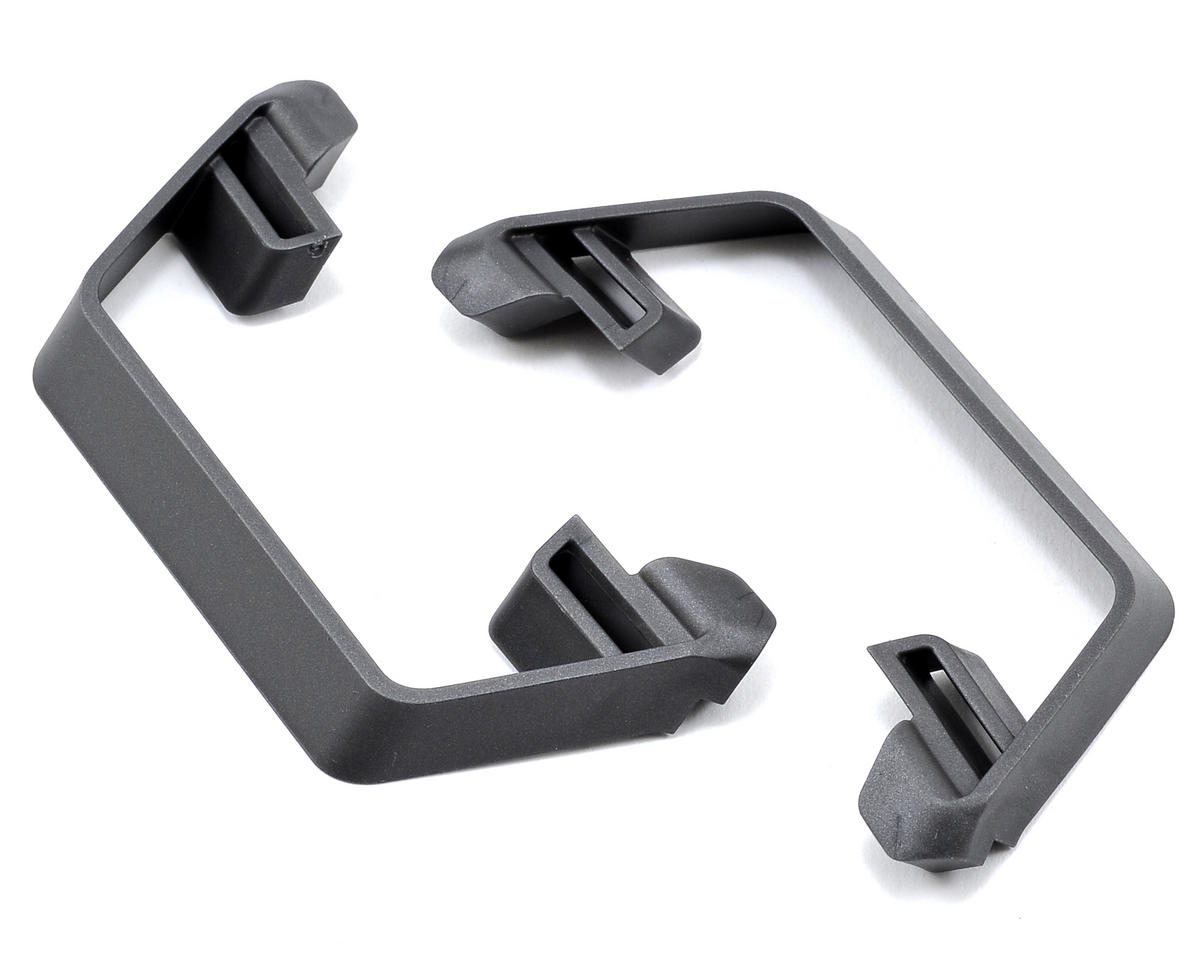 Slash 2WD LCG Nerf Bars (Grey) by Traxxas