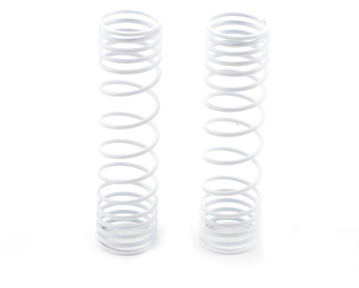 Traxxas Rear Shock Spring Set (White) (2)