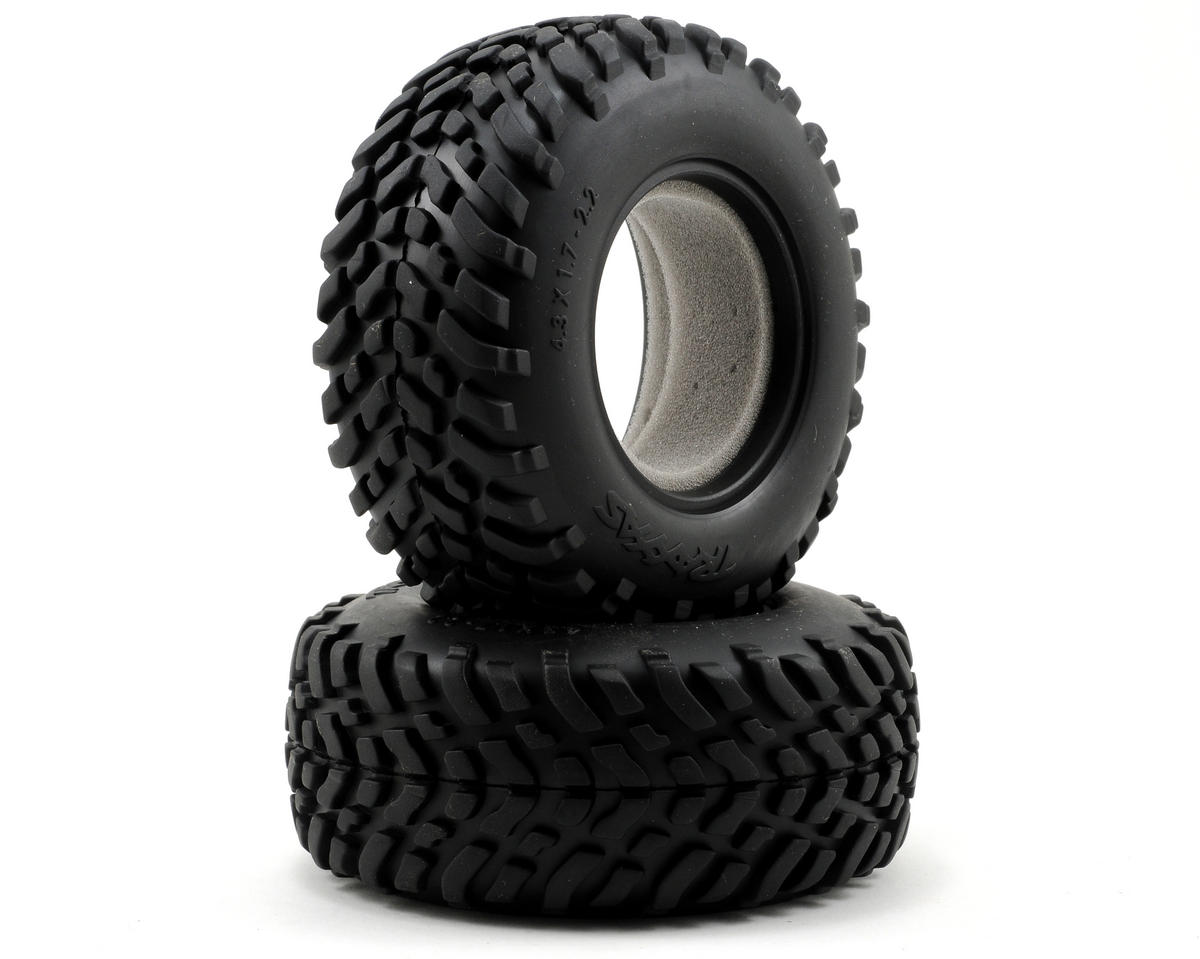 2.2/3.0 SCT Racing Tires (2) (Standard) by Traxxas