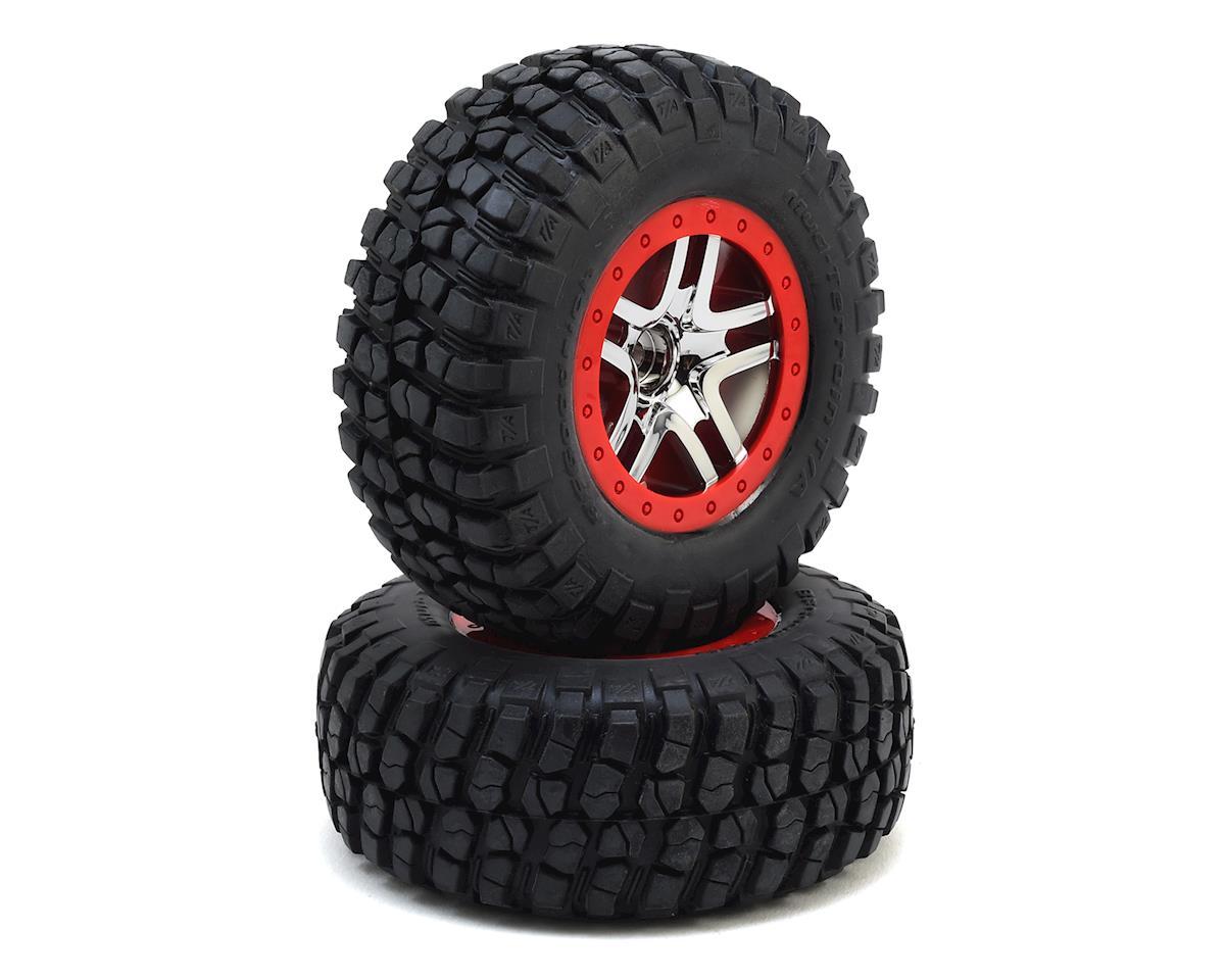 BFGoodrich Mud TA Front Tires (2) (Satin Chrome) (S1) by Traxxas