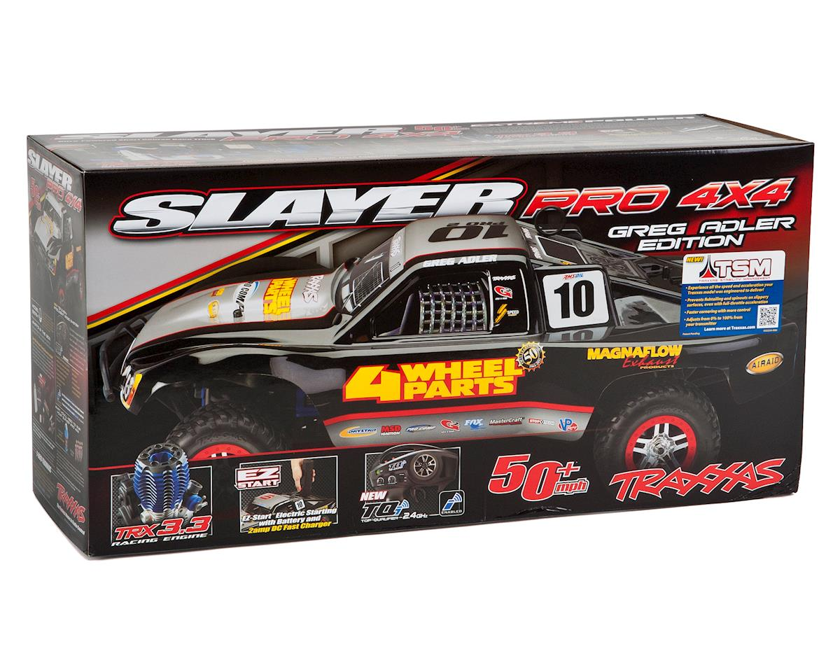Traxxas Slayer Pro 4WD RTR Nitro Short Course Truck (Mike Jenkins) w/TQi  2 4GHz Radio, TSM, EZ Start & Charger