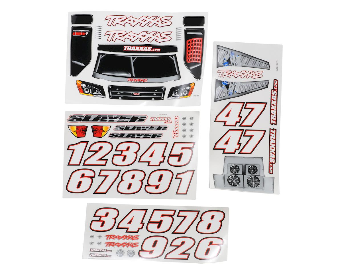 Traxxas Slayer Decal Sheet