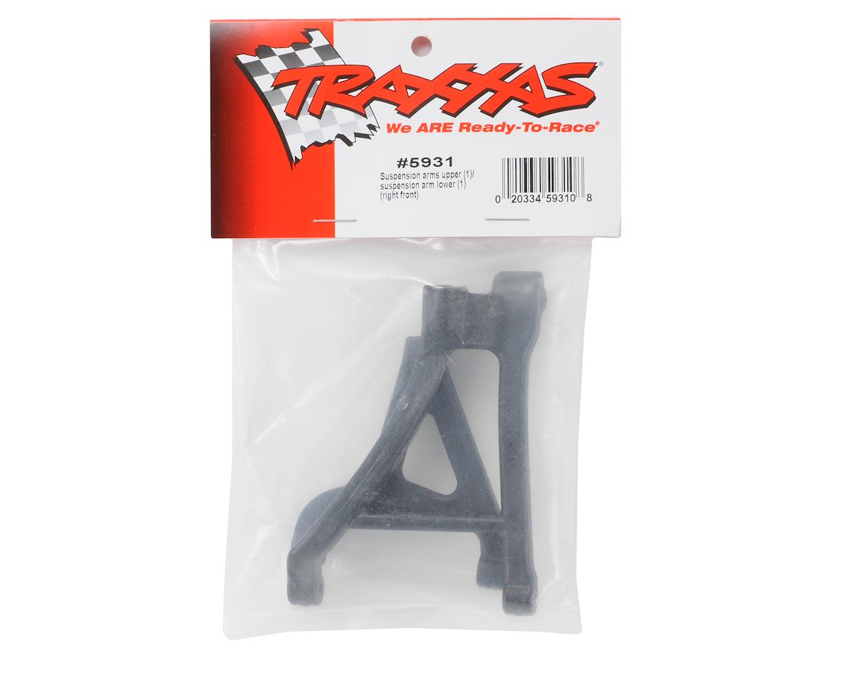 Right Front Upper Arm & Lower Arm (1) by Traxxas