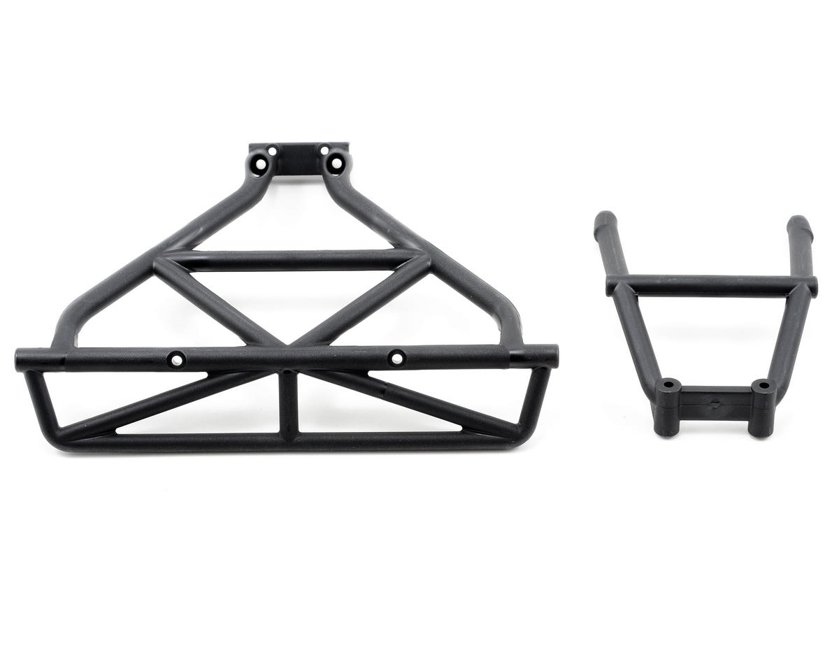 Traxxas Rear Bumper & Brace Set