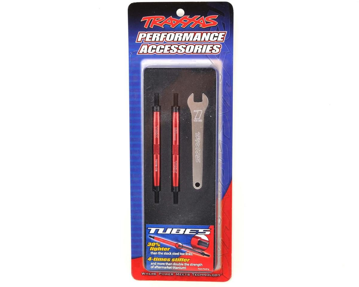 Traxxas 88mm Aluminum Front/Rear Toe Link Set (Red) (2) (Slayer Pro)