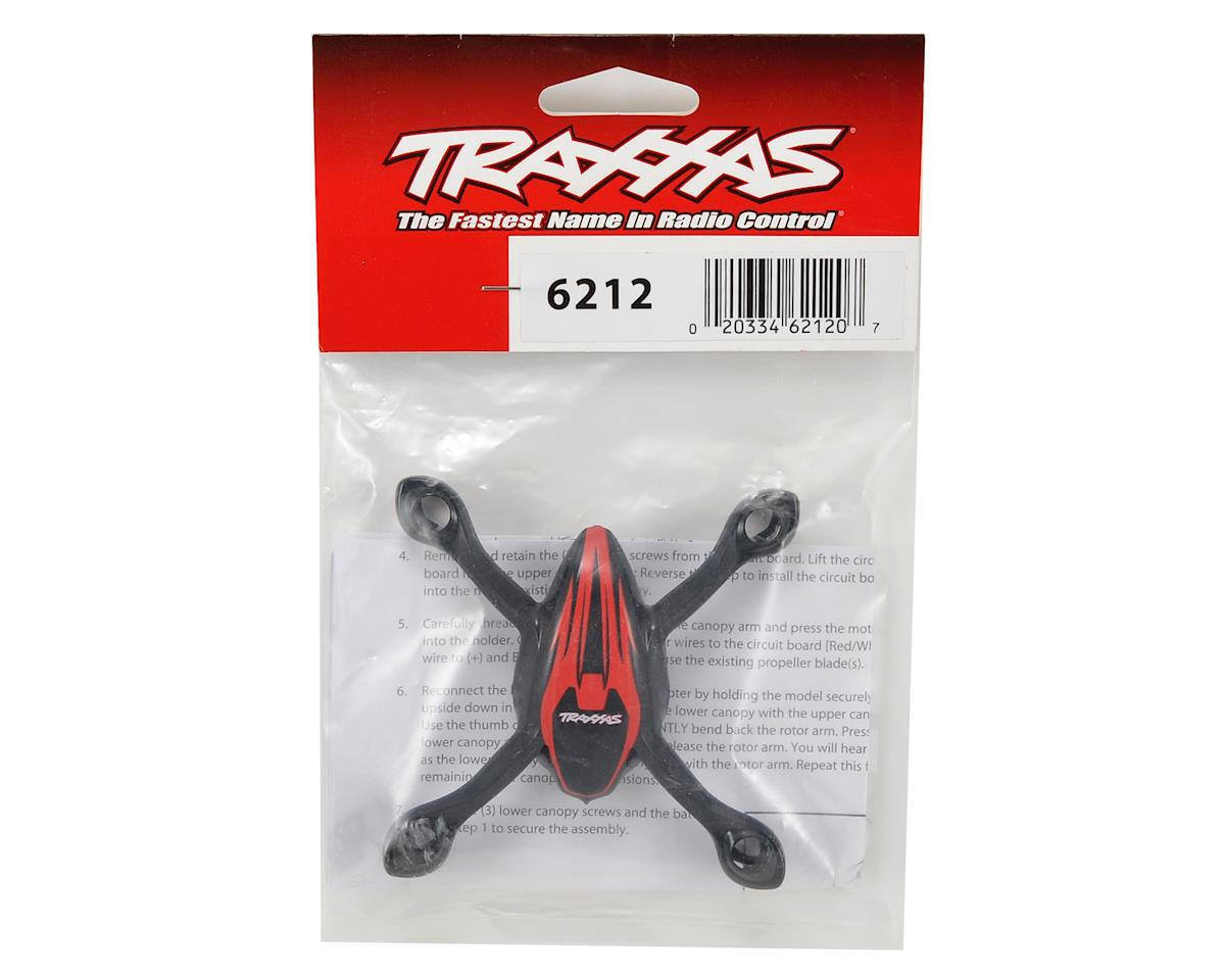 Traxxas Upper & Lower Canopy Set (Red)