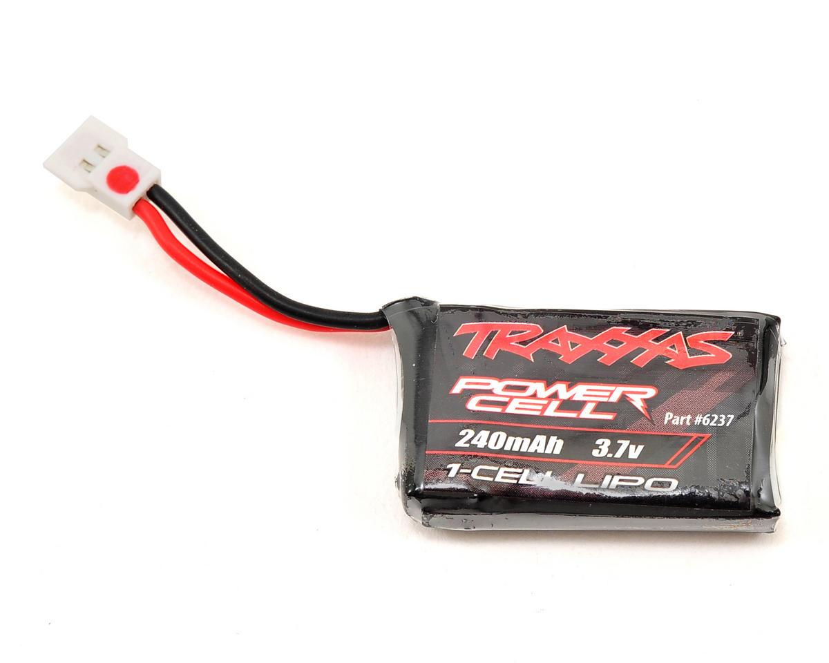 Traxxas 1S LiPo Battery (3.7V/240mAh) (QR-1)