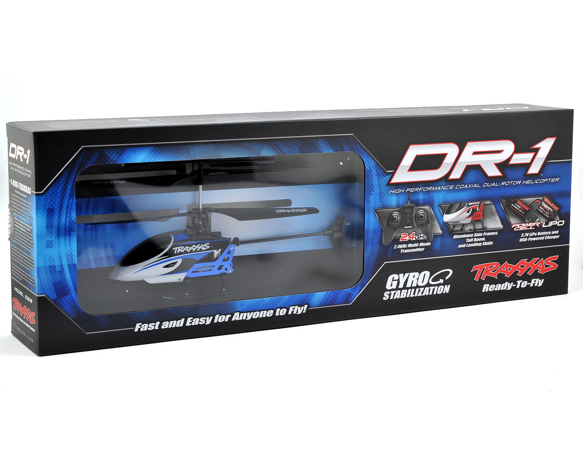 Traxxas DR-1 Electric Micro Coaxial RTF Helicopter w/2.4GHz Radio