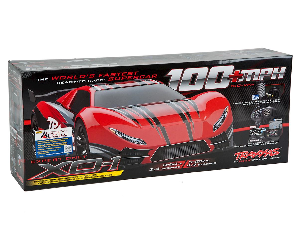 Traxxas XO-1 1/7 RTR Electric 4WD On-Road Sedan (Red)