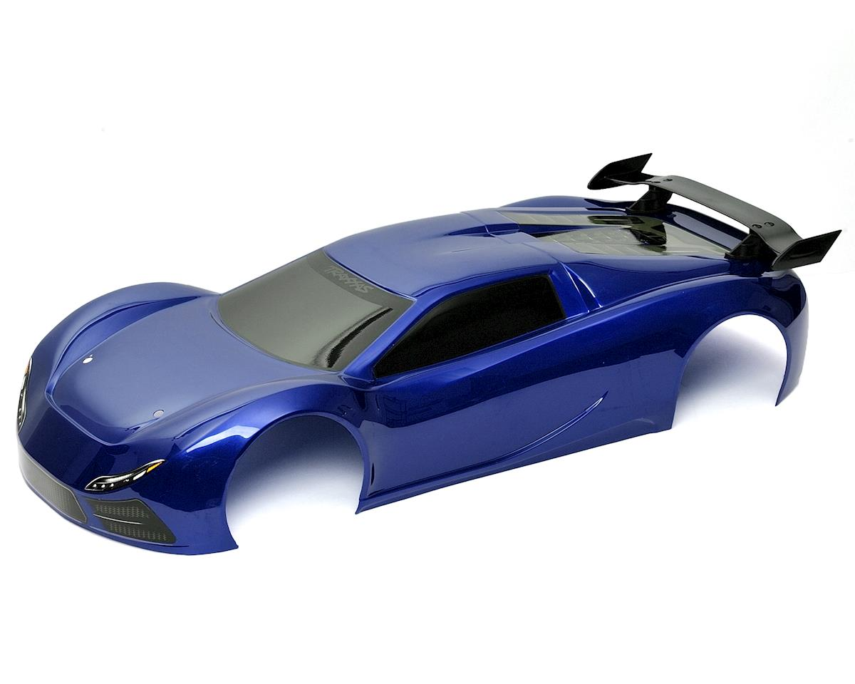 Traxxas XO-1 Pre-Painted Body & Wing Set (Blue)