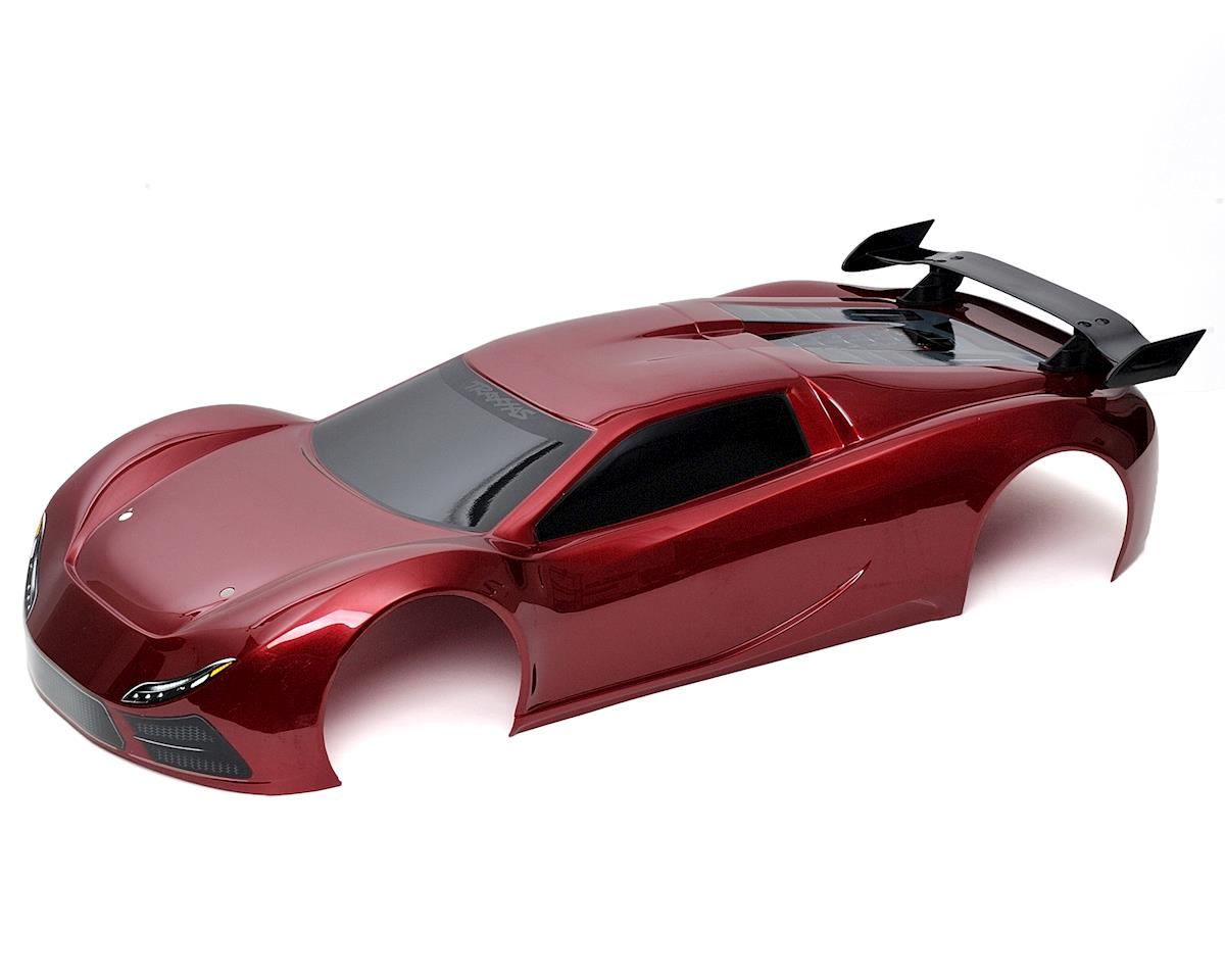 XO-1 Pre-Painted Body & Wing Set (Red) by Traxxas