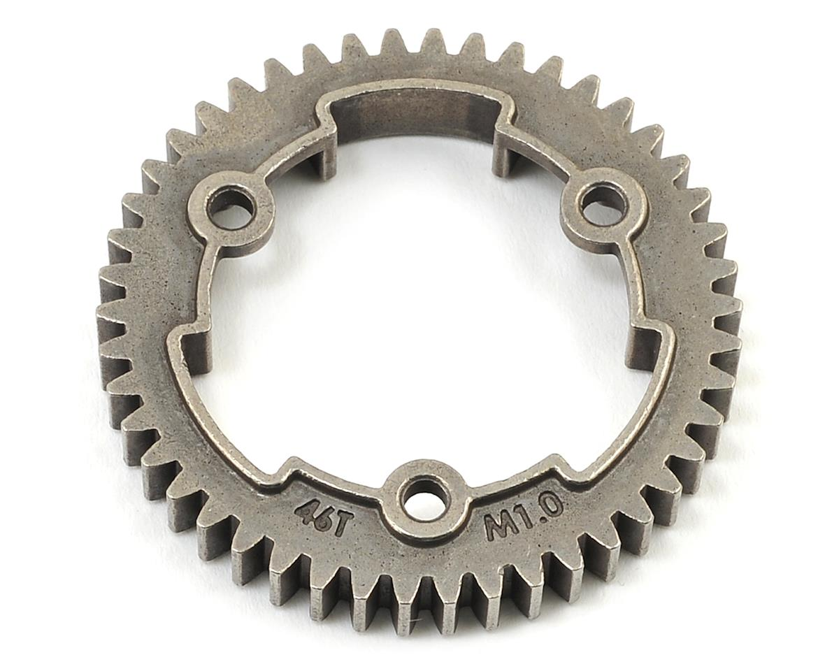 Hardened Steel Mod 1.0 Spur Gear (46T) by Traxxas