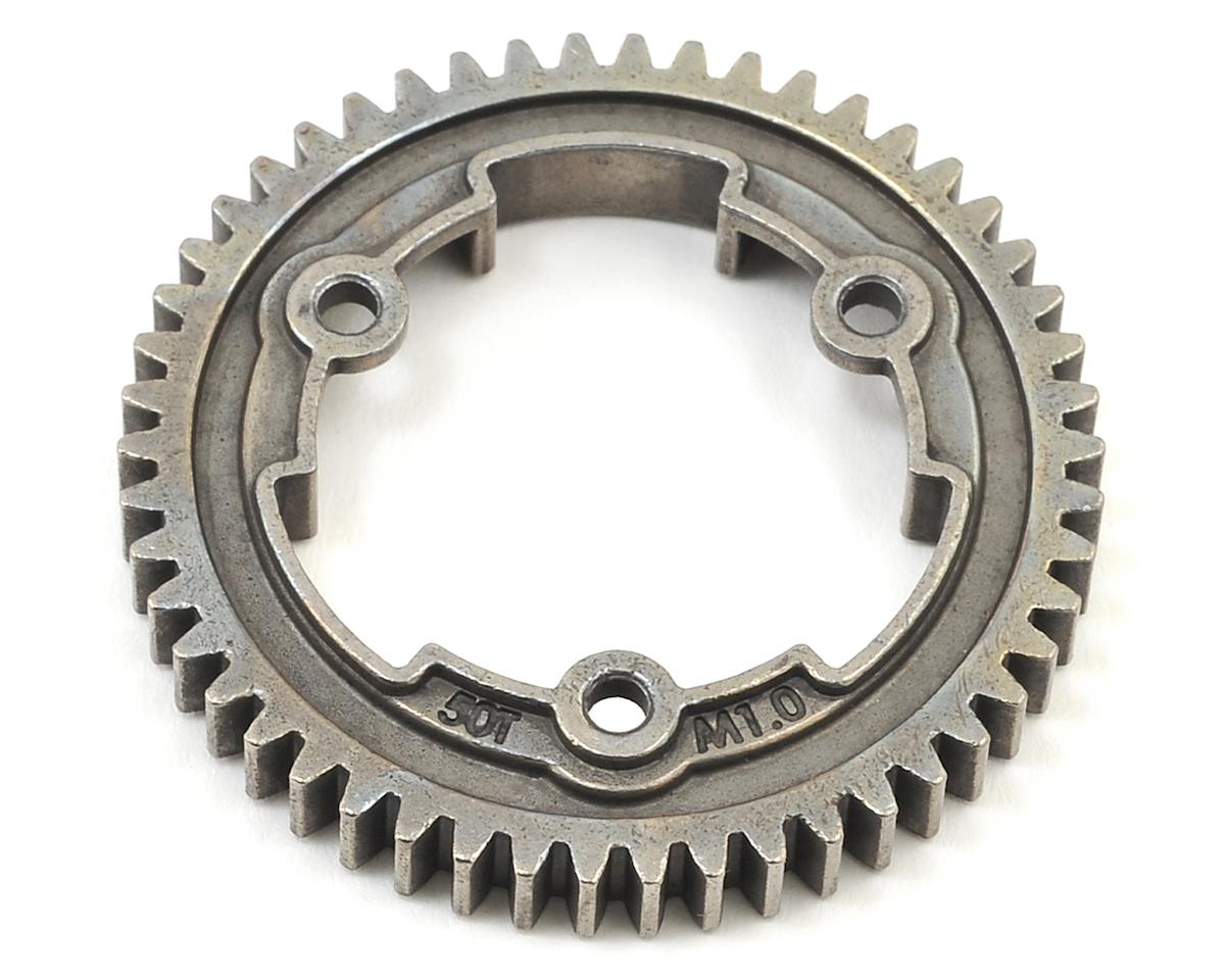 Hardened Steel Mod 1.0 Spur Gear (50T) by Traxxas
