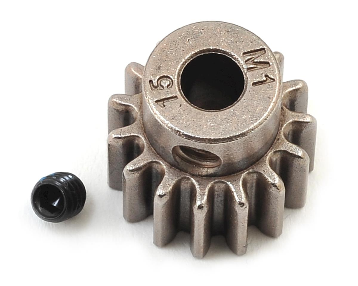 Traxxas Hardened Steel Mod 1.0 Pinion Gear w/5mm Bore (15T)