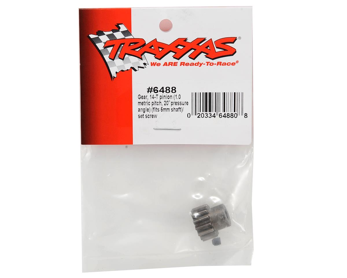 Traxxas Steel Mod 1.0 Pinion Gear w/5mm Bore (14T)