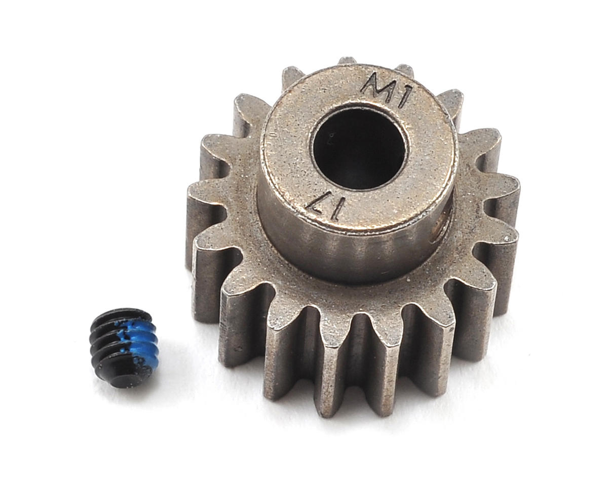 Traxxas Steel Mod 1.0 Pinion Gear w/5mm Bore (17T)