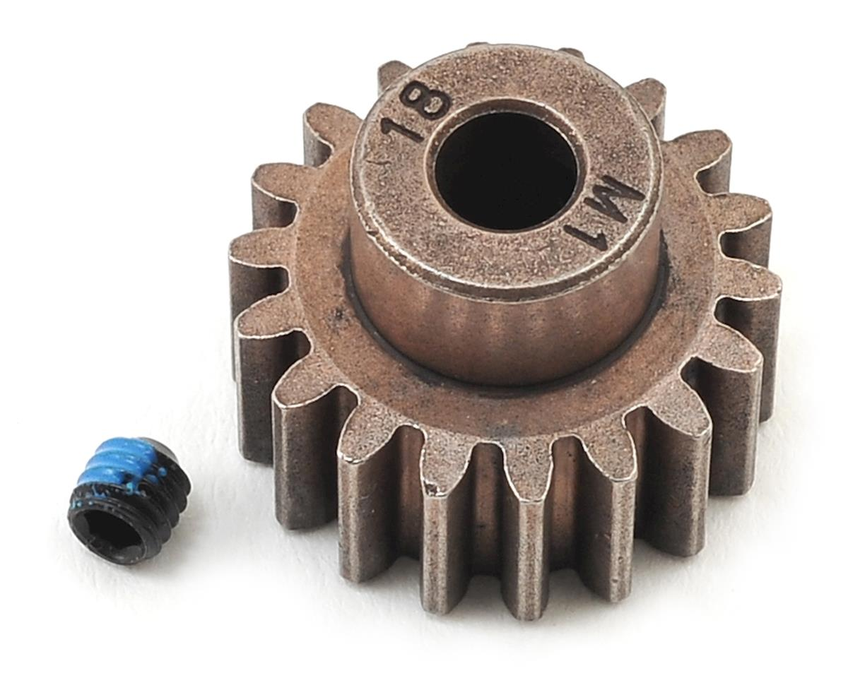 Hardened Steel Mod 1.0 Pinion Gear w/5mm Bore (18T) by Traxxas