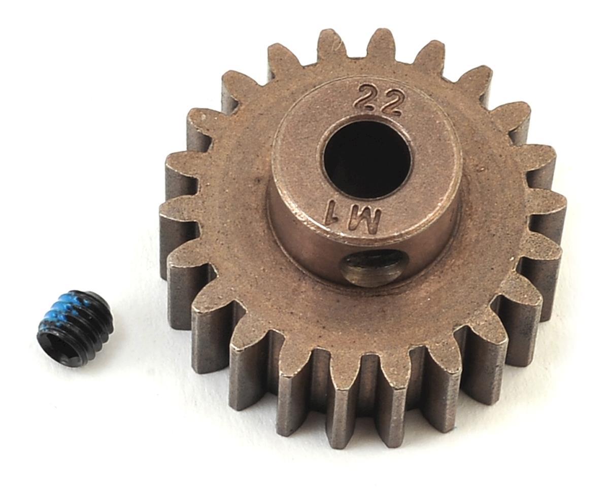 Traxxas Hardened Steel Mod 1.0 Pinion Gear w/5mm Bore (22T)
