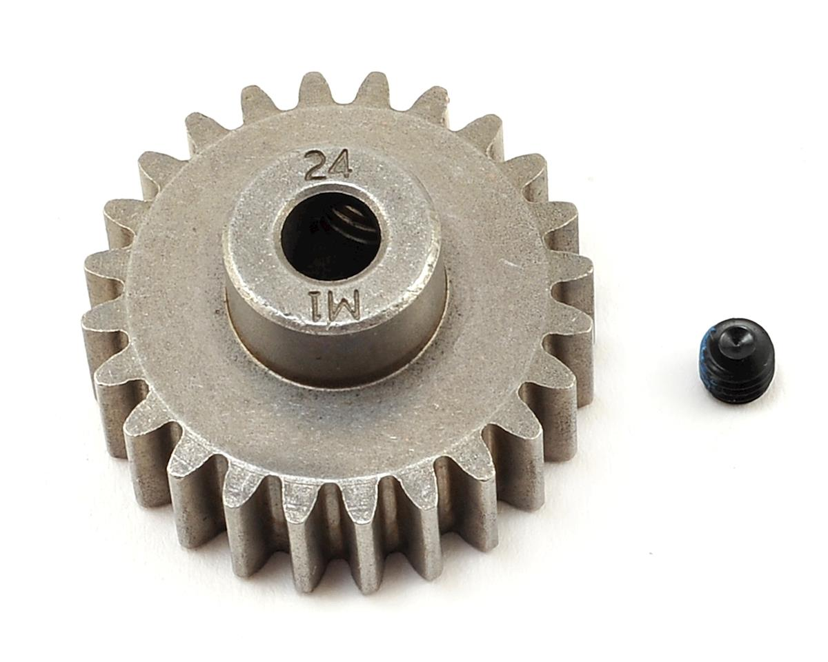 Hardened Steel Mod 1.0 Pinion Gear w/5mm Bore (24T) by Traxxas