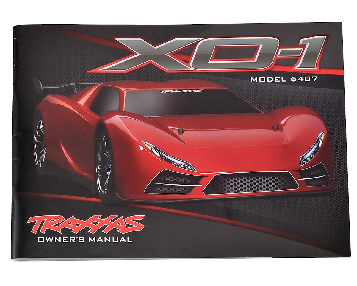 Traxxas XO-1 Owner's Manual