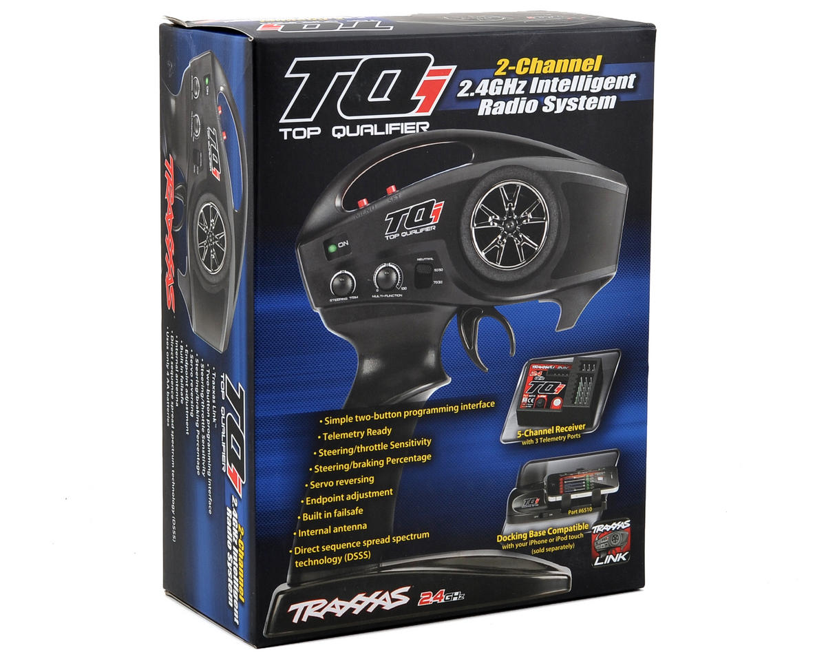 Traxxas TQi 2.4GHz 2-Channel Radio System w/5-Channel Receiver